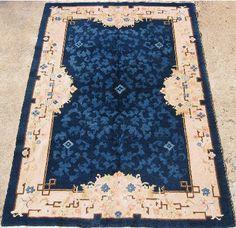 Art Deco rug 11459 size 6x9 by cyberrug