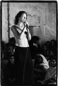 """Cynthia Basinet visits Western Sahara Refugees """"displaced societies are of value,: their issues are our issues."""" http://wikipeacewomen.org/wpworg/en/?page_id=3704"""