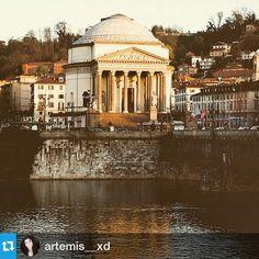 #Torino raccontata dai cittadini per #inTO Foto di artemis__xd #inTO #granmadre #torino #turin #po #river #fiume #church #instaitaly #instaitalia #italy #italia #piedmont #piemonte #worldplaces