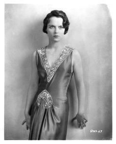 Louise Brooks. Very slim body but beautiful soft arms and shoulders.