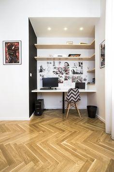 Interiér: Bílá na dřevěném základě | Dům a byt