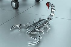 Scorbot - CG Creation by Saeed Hasan Zadeh