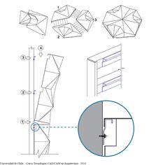 En Detalle: Fachadas Paramétricas / FAU Universidad de Chile
