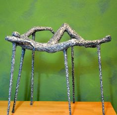 """""""Durmiente"""" Metal Chain, Texture, Crafts, Exhibitions, Sculpture, Artists, Surface Finish, Crafting, Diy Crafts"""