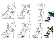 Fashion Design Portfolio by Andrew Shimasaki, via Behance