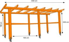 There are lots of pergola designs for you to choose from. You can choose the design based on various factors. First of all you have to decide where you are going to have your pergola and how much shade you want. Vinyl Pergola, Cedar Pergola, Deck With Pergola, Wooden Pergola, Pergola Patio, Pergola Plans, Pergola Kits, Pergola Ideas, Corner Pergola