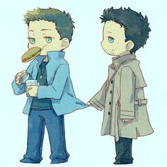 Destiel, my heart!