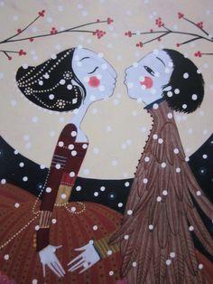 Charlotte Gastaut _ Le prince Hibou Art Et Illustration, People Illustration, Character Illustration, Frank Herbert, France Art, Belly Painting, Image Makers, Wonderful Images, Art Deco Fashion