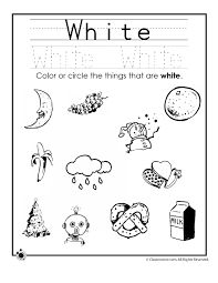 Learning Colors Worksheets for Preschoolers Color White Worksheet – Classroom Jr. Color Worksheets For Preschool, Preschool Colors, Shapes Worksheets, Color Activities, Preschool Learning, Kindergarten Worksheets, Preschool Activities, Preschool Forms, English Activities