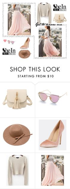 """""""SheIn"""" by munevera-berbic ❤ liked on Polyvore featuring vintage and shein"""