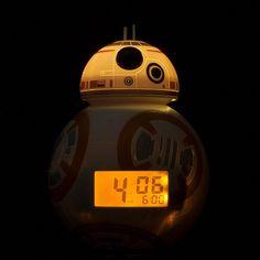 Star Wars BB-8 Light Up Alarm Clock