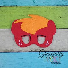 Mac Mask Embroidery Design - 5x7 Hoop or Larger
