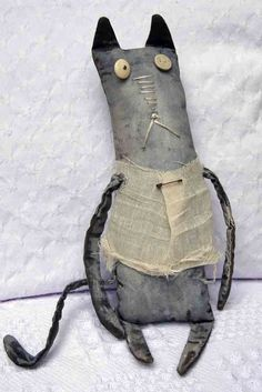 My first ever primitive doll - love the process!