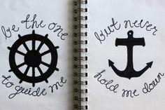 Guide Me.  (Matching Tattoo?)