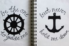 Guide Me.  (Matching Tattoo?)