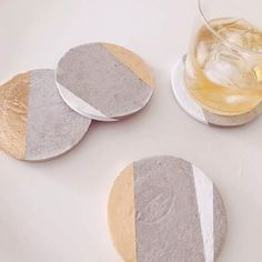 1000 images about coasters on pinterest marble coasters for How to make concrete coasters
