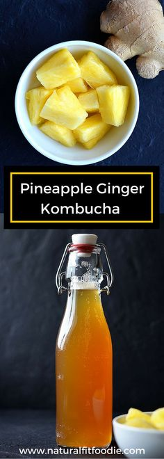 Homemade Kombucha -