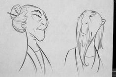 Old animation design drawings- In packing my home, I've come across some old animation design drawings I've done over the years. These particular drawings are from Aladdin, The Lion King, Mulan, and Brother Bear