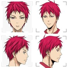 Akashi front and profile | KnB