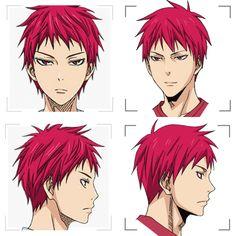 Akashi front and profile | KnB