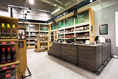 This is a grocery store? WOW!     Alma grocery by MOCO LOCCO, Krakow   Poland store design