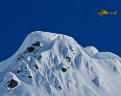 Seth Morrison an a warm up run in AK with #TGR. Photo by Daron Rahlves. #heliskiing