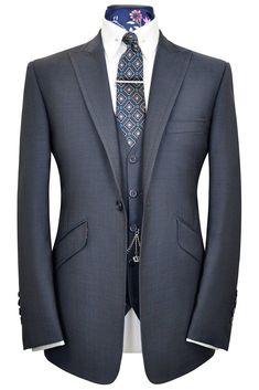 The Hutchison Slate Blue Suit