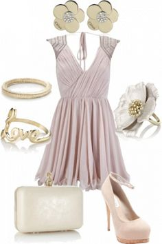 very pretty wedding inspiration outfit