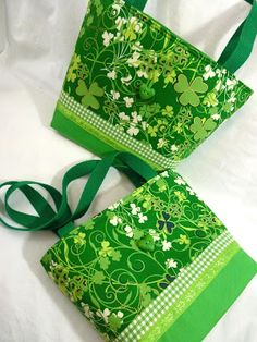 Leslie's Art and Sew: St. Patrick's Day Bags