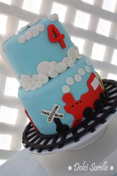 78 Best Train Cakes And Birthday Parties Images On Pinterest