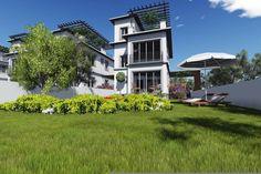 Beach Club, Villa, Mansions, House Styles, Home Decor, Mansion Houses, Homemade Home Decor, Decoration Home, Room Decor