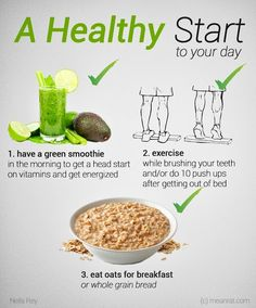 Neila Rey -  A Healthy Start to Your Day Start a day with a green…