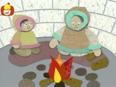 Cuentos para niños - Los esquimales, Luli TV