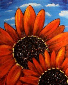 Sunflower-Serenade Pinot's Palette DIY art studio