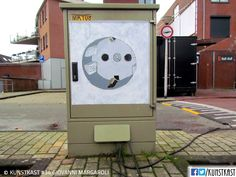 kunstkast giovanni margaroli Urban Street Art, Box Art, Holland, Painting, Seeds, Shop Signs, Dutch Netherlands, Painting Art, Netherlands