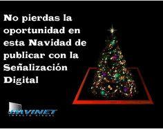 No esperes más aumenta tus ventas esta Navidad con la Señalización Digital #imvinet