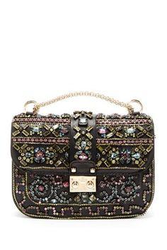 Valentino Crystal Flap Bag