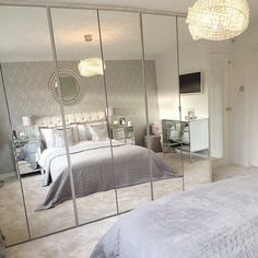 Replacing Wardrobe Doors Mrs Rackley Home Home Interior and Lifestyle Best Wardrobe Designs, Wardrobe Design Bedroom, Bedroom Wardrobes Built In, Grey Bedroom Design, Wardrobe Room, Closet Bedroom, Wardrobe Ideas, Capsule Wardrobe, Room Ideas Bedroom