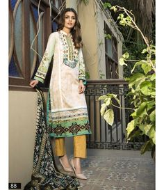 Monsoon Festivana SS '16 Embroidered Collection by Al Zohaib AZ_8B