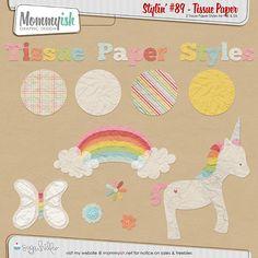 CU - Stylin' #89 - Tissue Paper by Mommyish from Sugar Hill Co.