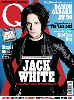 At Home With The King Of The Wild Frontier… Jack White Is On The Cover Of The New Issue!