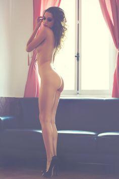 Nude by window - boudoir shots