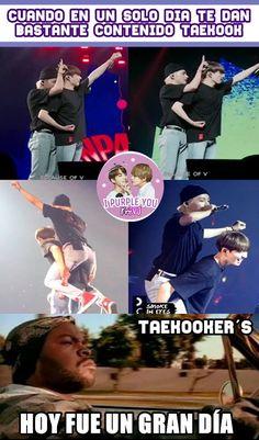 Memes Bts Español, Vkook Memes, Taekook, Vkook Fanart, Cute Words, Bts Lockscreen, I Love Bts, Foto Bts, Namjin