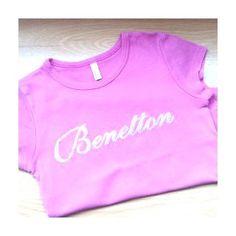 Camiseta Benetton niña 3 años www.ahorrochildren.es