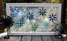 This Garden Glass Window is called 'Seven Stars'.