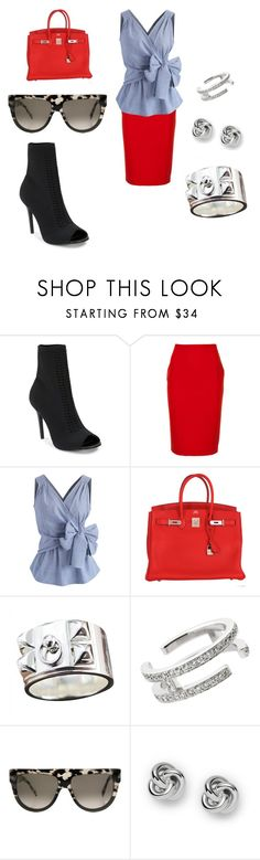 """Issa Good Fit"" by shenell-ward on Polyvore featuring Charles by Charles David, Likely, Chicwish, Hermès, CÉLINE and FOSSIL"