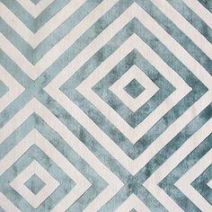 Calypso by @suzanne_sharp.  #therugcompany #blue #wool #silk #summer #handmade #rug #geometric #design