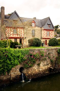 River House, Auray, Brittany France