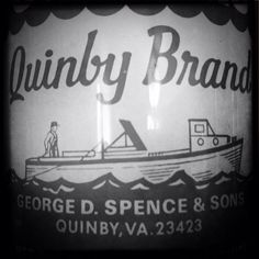 Quinby Brand Oyster Tin - Quinby, VA