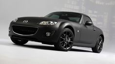 Matte Black Mazda needs to be lowered. would totally drive ^_^ Mx5 Nc, Mazda Miata, Mode Of Transport, Future Car, Matte Black, Convertible, Classic Cars, Automobile, Bike